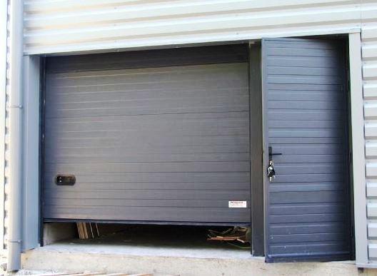 Porte sectionnelle isol e double face h8 mischler en ligne for Porte garage mischler