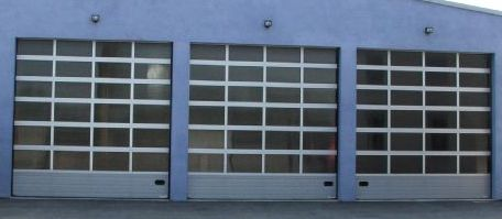 Porte sectionnelle aluminium vitr e h7 mischler en ligne - Porte sectionnelle aluminium ...