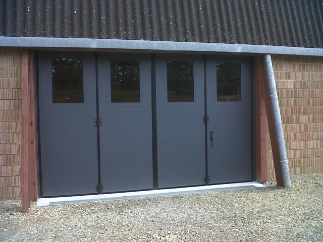 Porte accord on vantaux multiples en 2 parties 2x2 mischler en ligne - Porte de garage accordeon ...