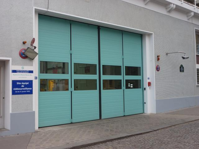 Porte accord on vantaux multiples en 2 parties 1 2 non for Porte de garage mischler