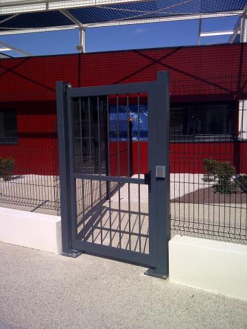 Portillon ext rieur de service mischler en ligne for Porte de garage mischler